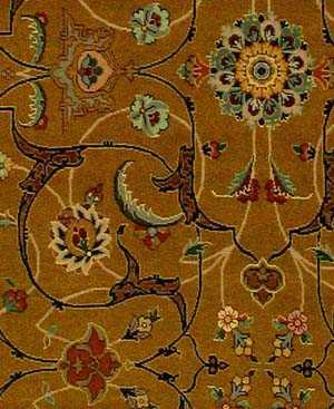 Arabesque carpet close uo