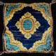 medallion cushion cover