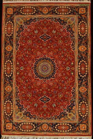 Isfahan design carpet